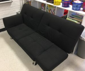 Couch as alternative seating