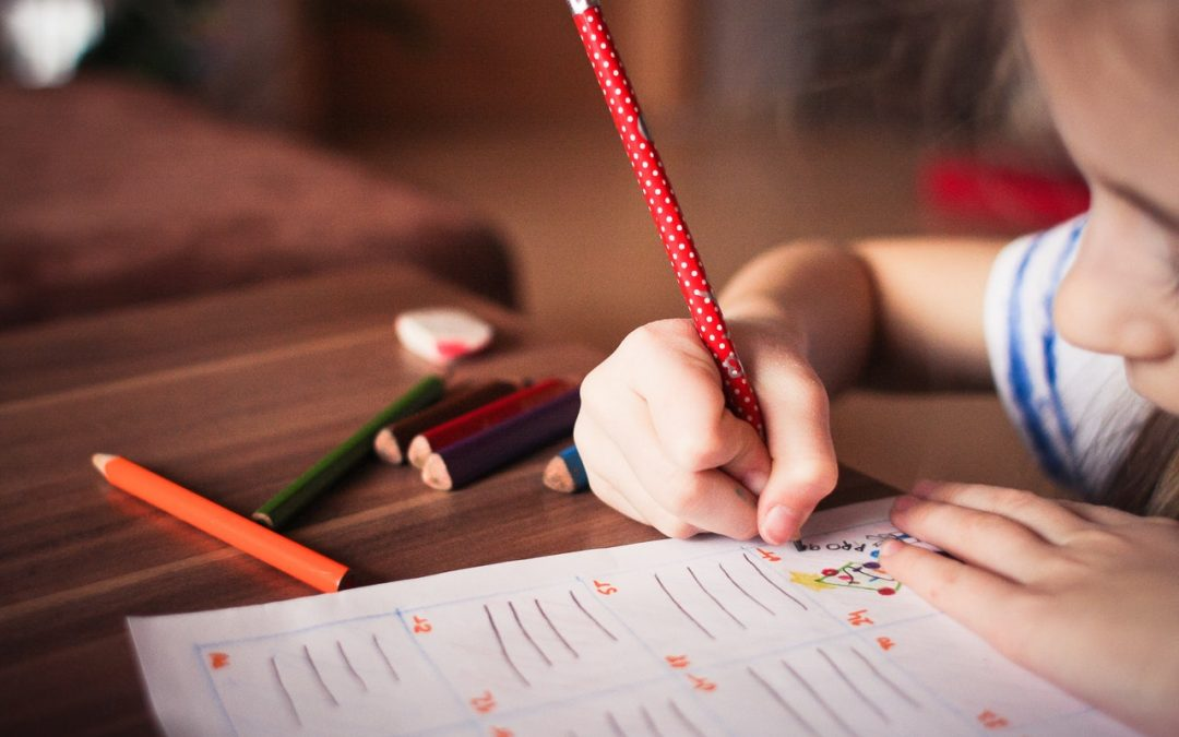 handwriting difficulties are one sign of the need for in-home occupational therapy